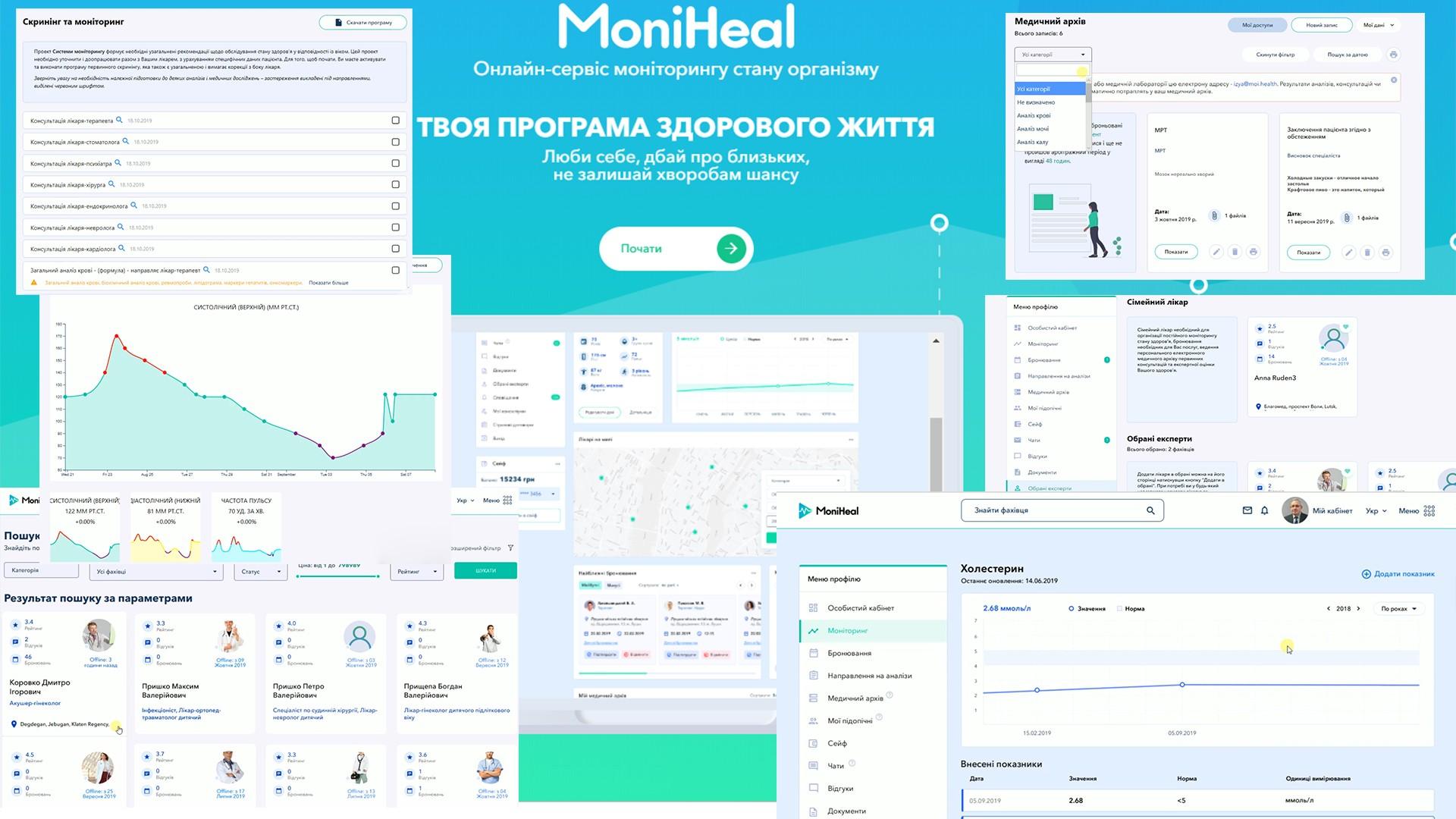 Завчасно попередити хворобу: в Україні розробили електронну систему моніторингу здоров'я людини- MoniHeal