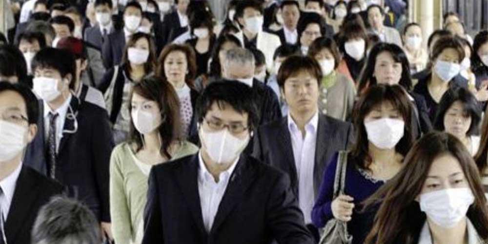 Началось: в Японии бушует грипп  H1N1, который вызвал глобальную пандемию в 2009 году