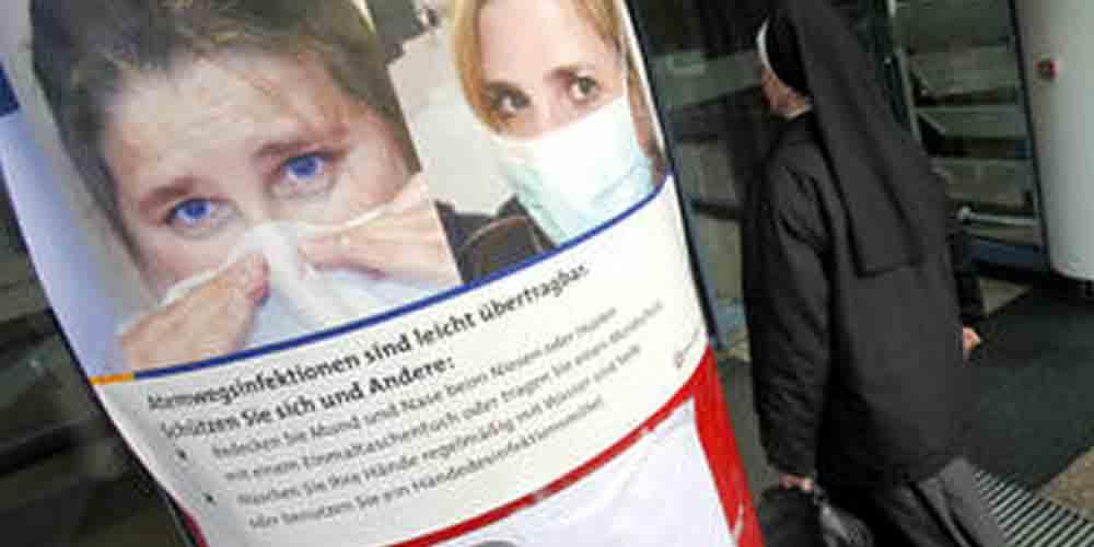 У Великобританії найбільший спалах грипу за останні 5 років