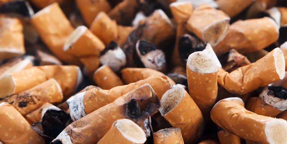 Исследования доказали, что затушенные сигареты выделяют токсины