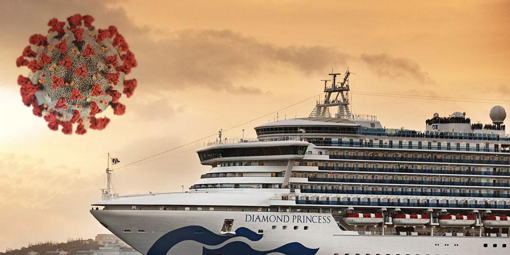 На круизном лайнере вспышка коронавируса: среди пассажиров 25 украинцев
