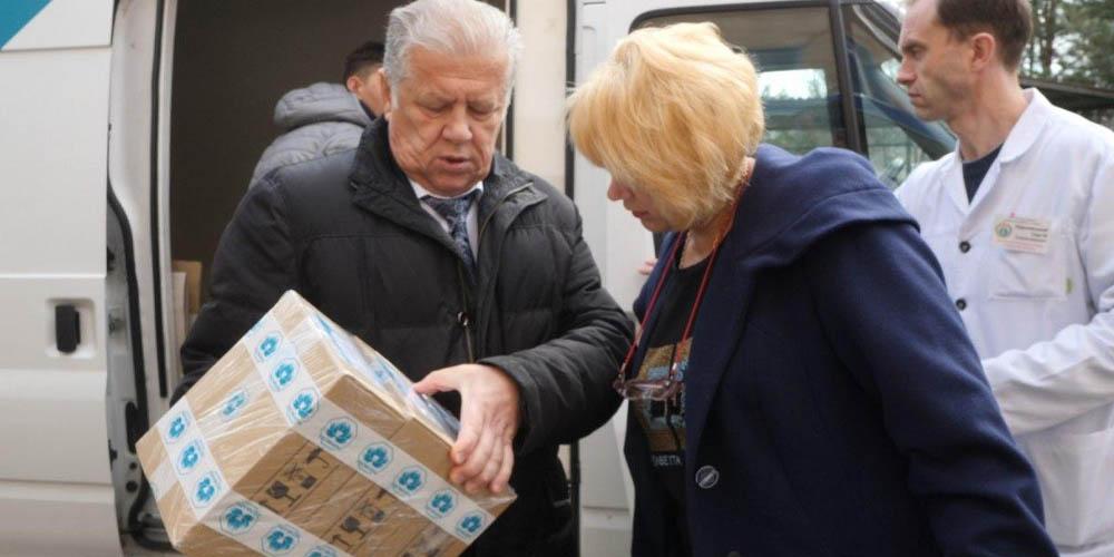 У Нові Санжари доставили велику партію противірусних препаратів для профілактики