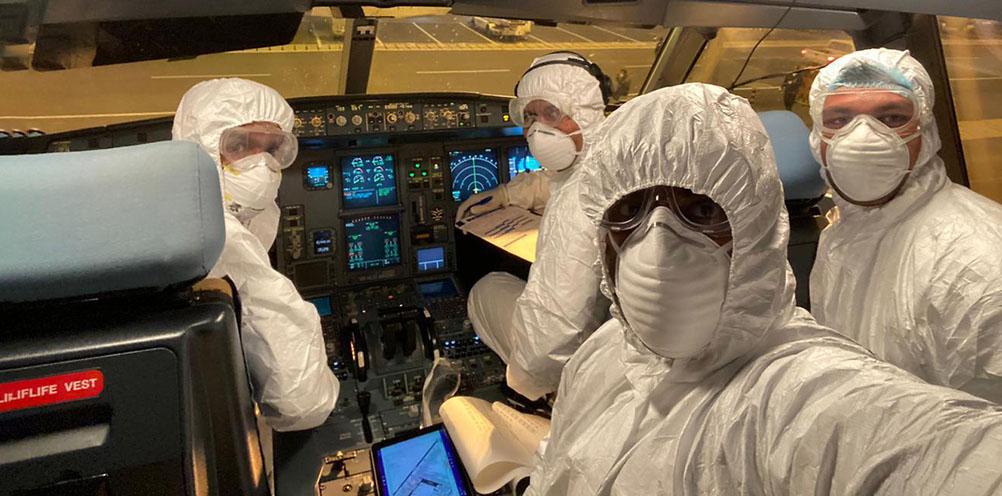 Как защититься от коронавируса в самолете