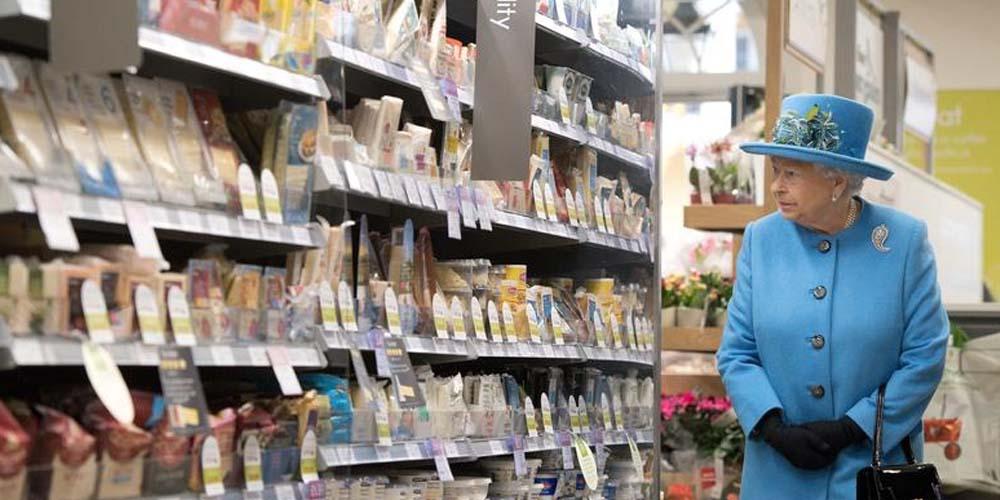 Как в британских магазинах соблюдают социальное дистанцирование