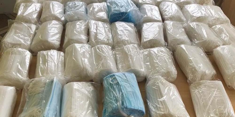 В Киеве грабители пытались украсть 100 тысяч медицинских масок