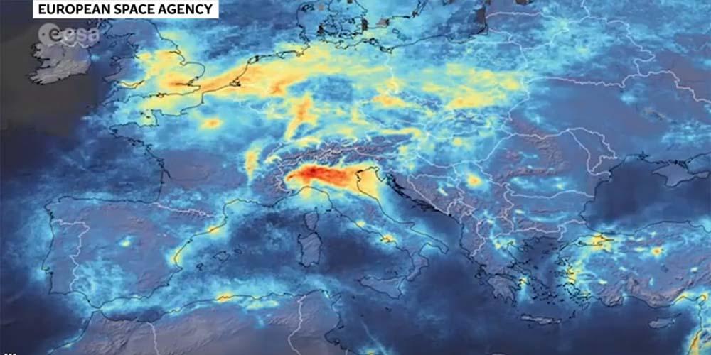 Следствие мер против Covid-19: над Италией зафиксирован более чистый воздух