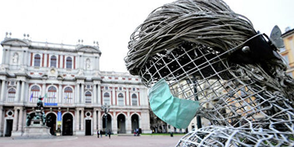 В Италии объявлен жесткий карантин до апреля