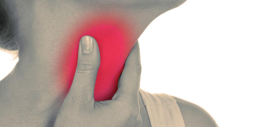 Першение в горле опасный симптом: причины