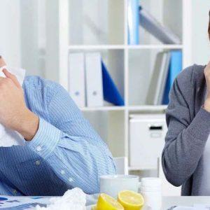 Захворювання на роботі