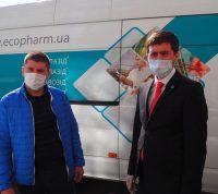Львовские больницы, по просьбе городских властей, получили партию украинского противовирусного препарата