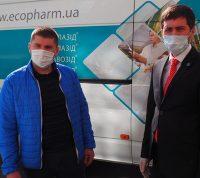 Львівські лікарні, на прохання міської влади, отримали партію українського противірусного препарату