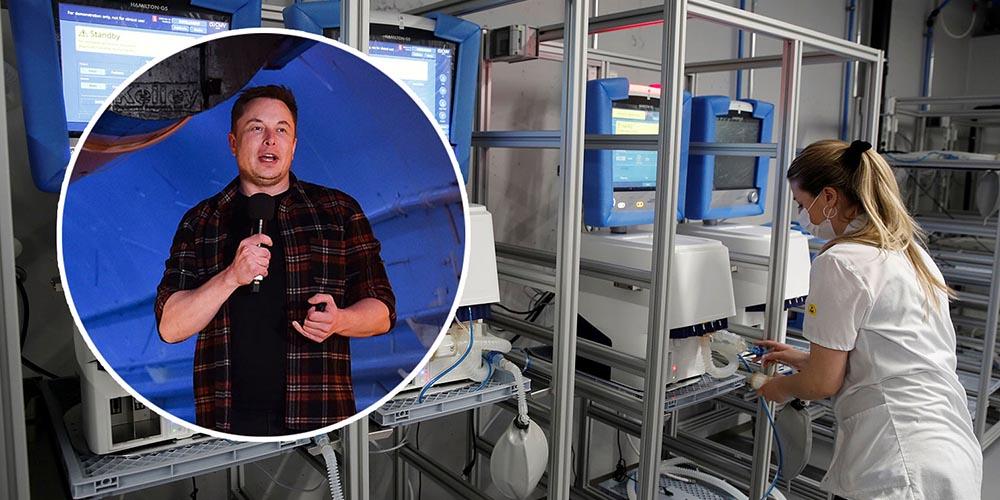 Аппараты ИВЛ от Tesla не совсем подходят для больных коронавирусом