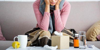 В Украину идут четыре вируса гриппа: