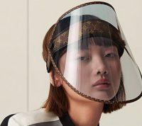 Самую стильную защитную маску представил французский дом моды Louis Vuitton