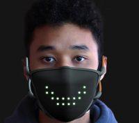 Создали защитную маску, которая умеет улыбаться