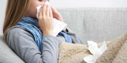 В течение недели ОРВИ заболели почти 135,5 тысяч украинцев
