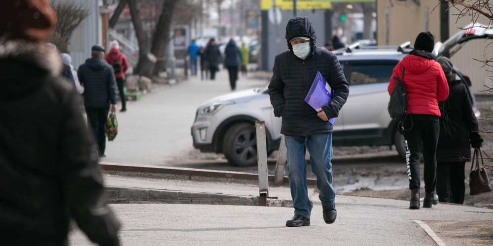 Ведение «масочного режима» сокращает заболеваемость коронавирусом на 40%