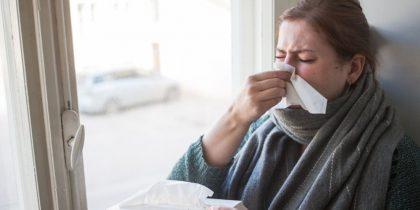 Протягом тижня в Україні на ГРВІ захворіло майже 126 тисяч осіб