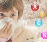 Дефицит витаминов у детей: как защитить малыша от простуды