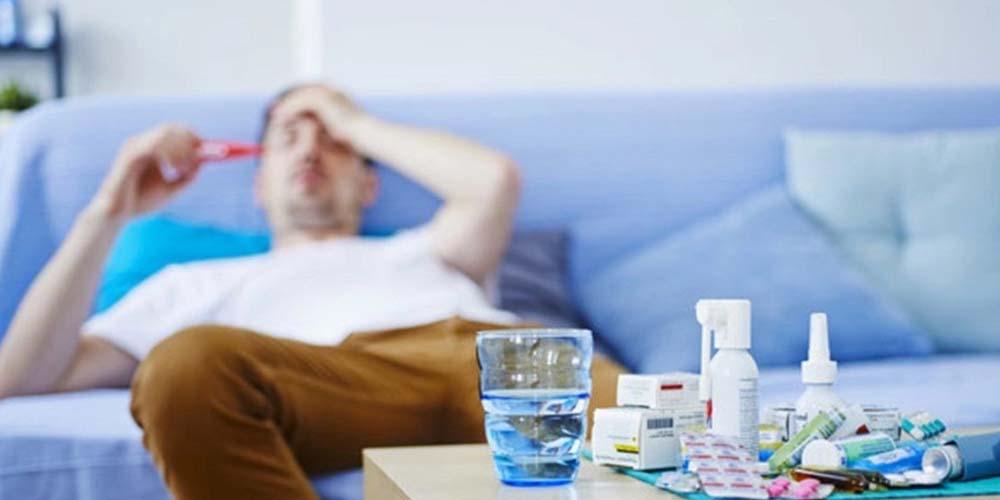 В течение недели, которая завершилась 14 марта, ОРВИ заболели 198 455 человек, из них 41,2% - дети до 17 лет