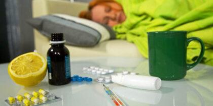 В Украине на прошлой неделе обнаружили случаи гриппа типа А