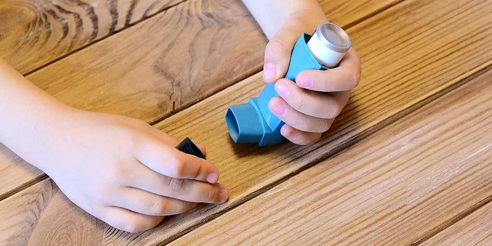 Что вызывает астму у детей