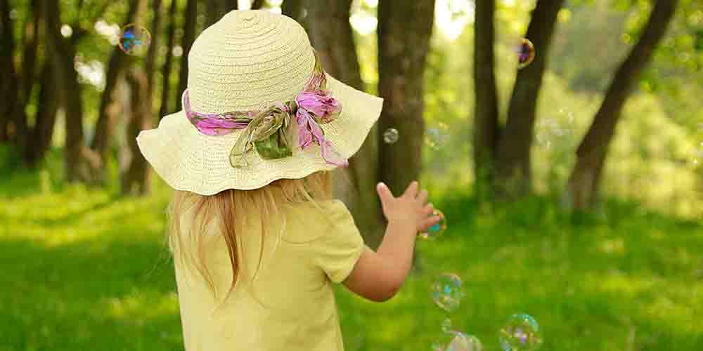 Природа ассоциируется у детей с благополучием