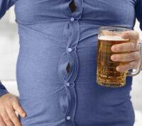 Люди с ожирением хуже переносят алкоголь