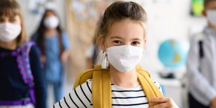 Ношение масок школьниками снизило заболеваемость на COVID-19 в учебных заведениях